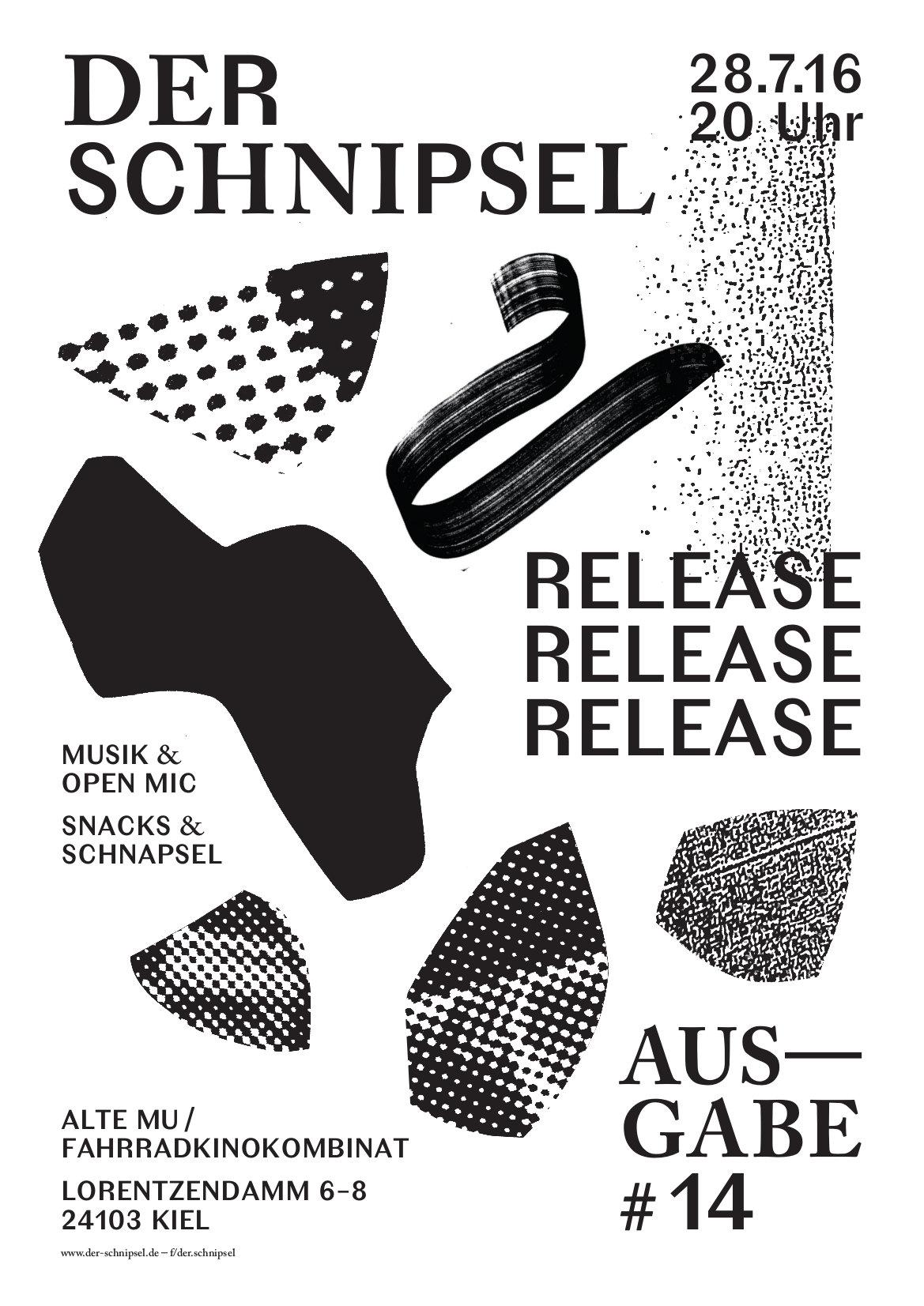Plakat Release Ausgabe #14